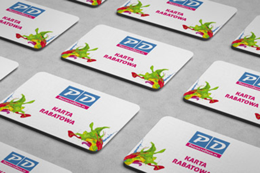 Karty plastikowe grube