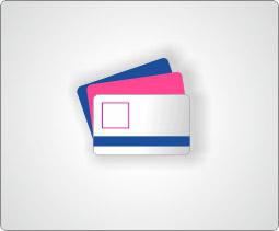 Karty plastikowe  z logo